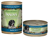 Innova Large Breed Senior Food - 24x5.5 oz