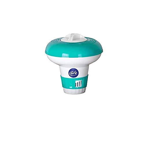 🥇 Gre 40071 – Dosificador flotante mini para piscinas