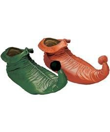 Rubber Elf Shoes Costume Accessory