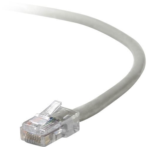 (Belkin 4ft 10/100BT RJ45M/RJ45M CAT5E Patch Cable (Gray))