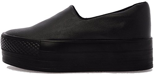 Slip Leather Black Synthetic 50 on C03 Platform Sneakers qpBTIxCw