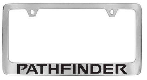 YEX Nissan Pathfinder License Plate Frame Car Tag Frame Auto License Plate Holder 12' x 6' frame-0726-1329