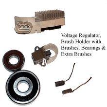 Alternator Rebuild Kit; Voltage Regulator, Brushes, & Bearings 1993-1998 Toyota Supra