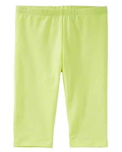 Osh Kosh Girls' Toddler Pedal Pusher Legging, Cold Snap Yellow, 4T ()