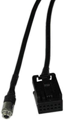 iPod X3 E63 E61 E83 E60 E64 5C E53 5S E85 Z4 iPhone 5 Eidoct Cable Adaptador de CD de 3,5 mm para BMW E39 Reproductor de MP3
