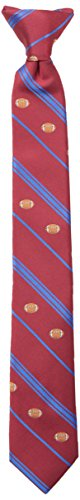 600 Clip (Wembley Big Boy's Boys Novelty Fun Print Clip Tie red, One Size)