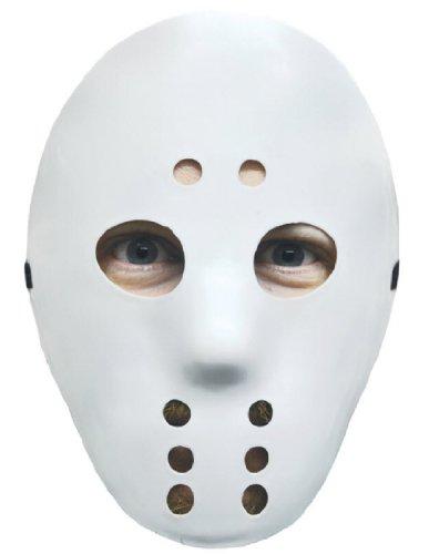 Hockey Player Halloween Costumes Kids (Hockey Mask White)
