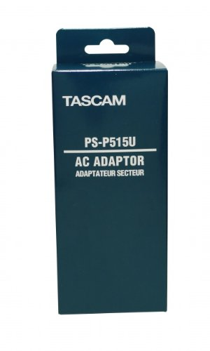 Tascam PS-P515U AC to USB Power Adapter for DR-05, DR-07mkII, and DR-08