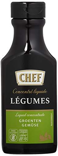 CHEF Flüssiges Konzentrat Gemüse, (1 x 200 ml Flasche)