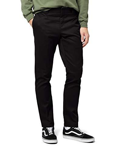 Dickies WP872 Slim Fit Work Chino Pant 36W x 32L Black