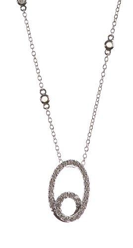 Collier Femme - NKS-K30518 - Argent 925/1000 4.1 Gr - Oxyde de zirconium