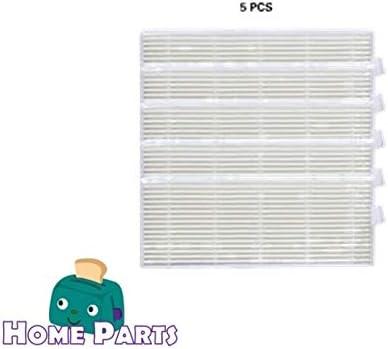 Home Parts Hepa Filtro para Cecotec Conga 1290/1390 (Juego de 5 ...