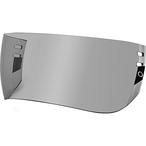 Oakley Modified Aviator Pro Cut Visor Adult Hockey Helmet Accessories - Grey/One Size