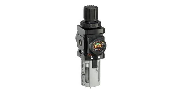 Ingersoll-Rand - P39124-600 - 1/4 NPT Filter/Regulator, 47 cfm Max