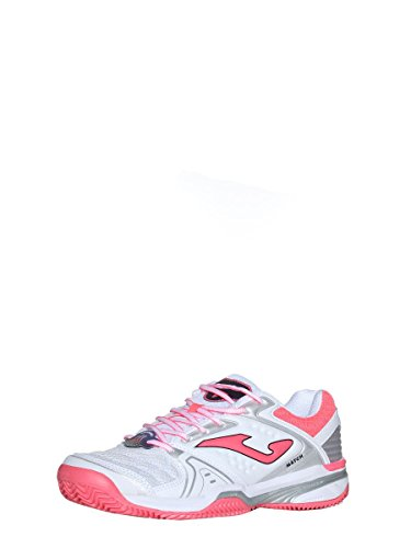 Bianco Rosa T 702 Clay Blanche Lady Bianco Shoes Allumette Rosa 702 Dame Chaussures T White Joma Argile Joma Match TxqwTvC1