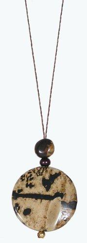 Remembering Tibetan Refugees Necklace / Naga Land Tibet Sacred Stones - Desert Refuge
