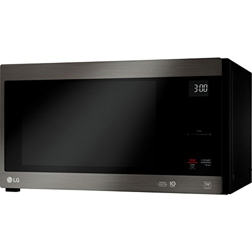 LG Black Stainless Steel Series 1.5 cu. ft. NeoChef Countertop Microwave with Smart Inverter and EasyClean