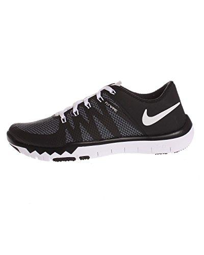 Nike Free Trainer 5.0 V6 Herren Low-Top Negro / Blanco (Black / White-Bright Crimson)