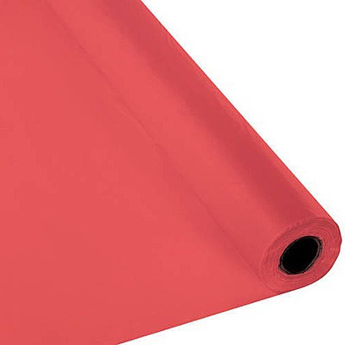 Creative Converting 763146 Plastic Table Cover Banquet, used for sale  Delivered anywhere in USA