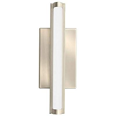 Lithonia Lighting FMVCCL 48IN MVOLT 30K 90CRI BN M4 Contemporary Cylinder 4-Foot 3K Led Vanity Light, Brushed Nickel (Certified Refurbished)