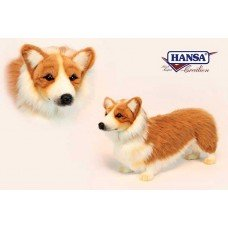 "Hansa Welsh Corgi Plush Dog 13.7"" Long X 9"" High from Hansa"