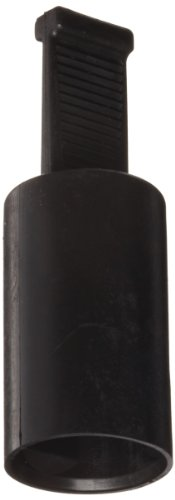 Kapsto 215 ML 10 x 20 Ethylene Vinyl Acetate Grip Cap, Black, 10 mm Tube OD (Pack of 100)