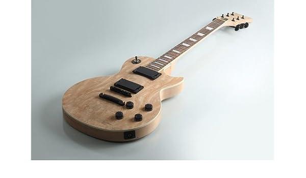 Albatross guitarras sólido cuerpo de caoba chapa de arce) Kit de DIY Guitarra Eléctrica gk057: Amazon.es: Instrumentos musicales