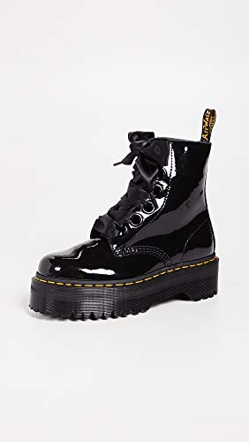 Patent Martens Molly Patent Black Dr Womens Lamber Boots q71wwHX