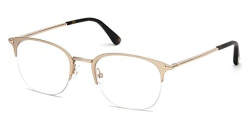 Eyeglasses Tom Ford FT 5452 029 matte rose - Eyeglasses Gold Rose Frames