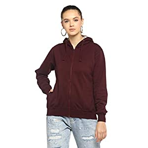 Alan Jones Clothing Women's Cotton Hooded Sweatshirt