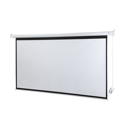 homegear 100 hd motorized 16 9 projector screen w remote