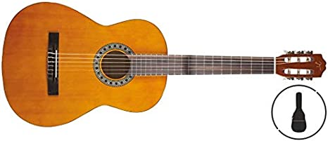 Oqan - Guitarra clásica qgc-15 gb: Amazon.es: Instrumentos musicales