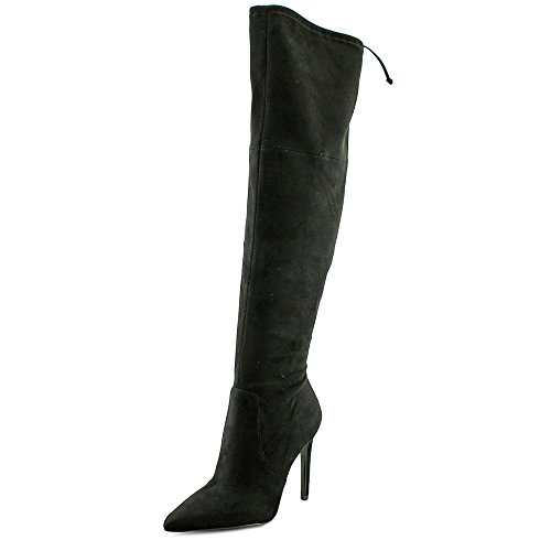 Guess Boots Black Pointed Knee Dress The Akera Toe Over Heeled UqfrU1