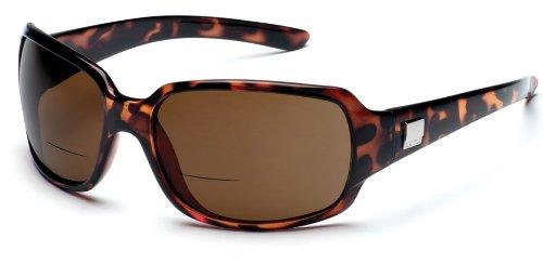 Suncloud Optics Cookie Reader Polarized Sunglasses - Tortoise/Brn Polycarbonate