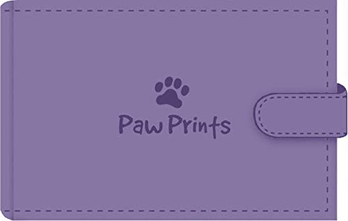 Paw Prints Photo Album (Stores 48 4'' x 6'' photos, Brag Book)