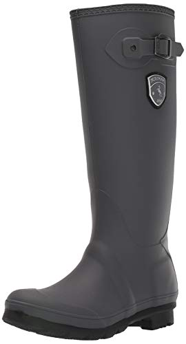 Kamik Women's Jennifer Rain Boot,Charcoal,7 M US