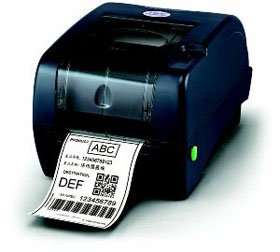 (TSC 99-125A013-00LF Series TTP-247 Desktop Thermal Transfer Bar Code Printer, 203 dpi Resolution, 7 ips, 8 MB DRAM, 4 MB Flash, USB/Serial/Parallel Port,)