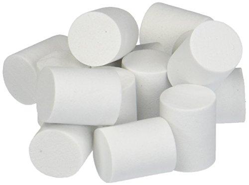 Foam Marshmallow Shape 15mmx18mm 50/Pkg-