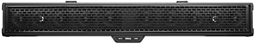 Boss Audio Systems BRRC34 34 Inch ATV UTV Sound Bar - IPX5 Weatherproof, 3 Inch Speakers, 1 Inch Tweeters, Built-in Amplifier, Bluetooth Audio, Built-in Dome Lights (Honda Pioneer 700 Stereo Systems)
