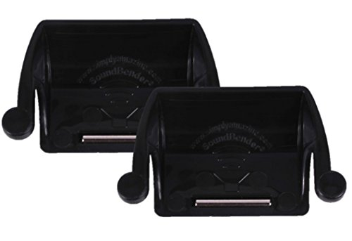 2-pack-soundbender-easy-fit-magnetic-sound-enhancer-for-ipad-2-3-4-as-seen-on-shark-tank-black