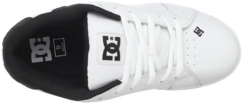 Sneakers White DC White Bianco unisex Black Shoes Net nxnqXfw8z