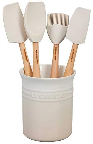 Craft Series 5-Piece Utensil Set with Crock - Meringue