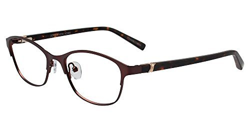 JONES NEW YORK Eyeglasses J138 Brown - New Glasses Jones York