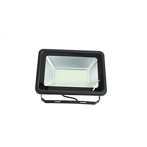 Jandei - Proyector led slim 150W exterior IP65 SMD5730 6000K negro ...