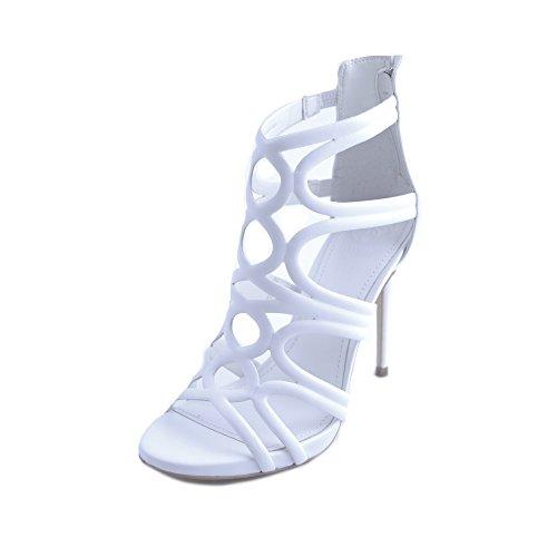 Sandali Modo Donne Delle Di Immagino Bianche Bianco Uk 7 ORxfpww