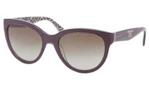 Prada Sunglasses SPR 05P PURPLE MAT-1X1 - Prada Purple Sunglasses