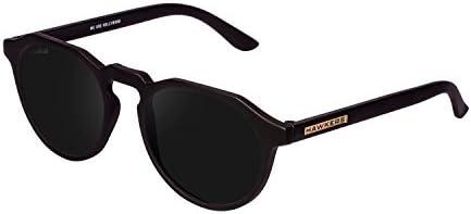 Hawkers Carbon Black Dark Warwick,Gafas de Sol Unisex, Negro/Negro