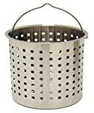 Perforated Basket 162 Qt Stainless Steel