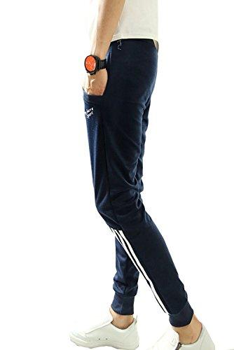 Jogging Pantalon Stripe Marine Homme Baggy Hiphop Sport Short Sarouel De Casual Pants Minetom 1Ew40x