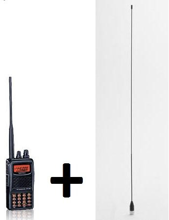 Yaesu FT-60R and Comet SMA24 Antenna Combo Kit by Yaesu